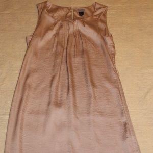 H&M Short Champagne Satiny Dress Size 6